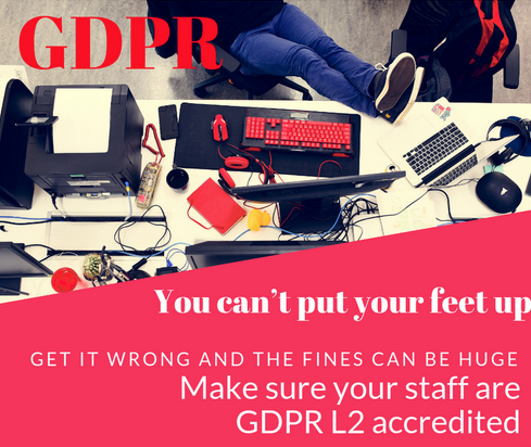 Its not time to put your feet up yet for GDPR